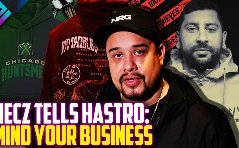 "OpTic HECZ Defends Nadeshot on Hoodie Selling Orgs ""MIND YOUR BUSINESS"""