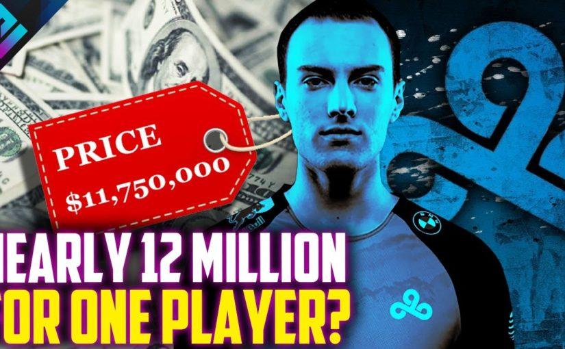 Cloud9 Spend $11,750,000 on One Player