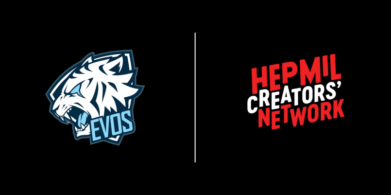 EVOS Esports Partners With Hepmil Creators' Network for Indonesian Market