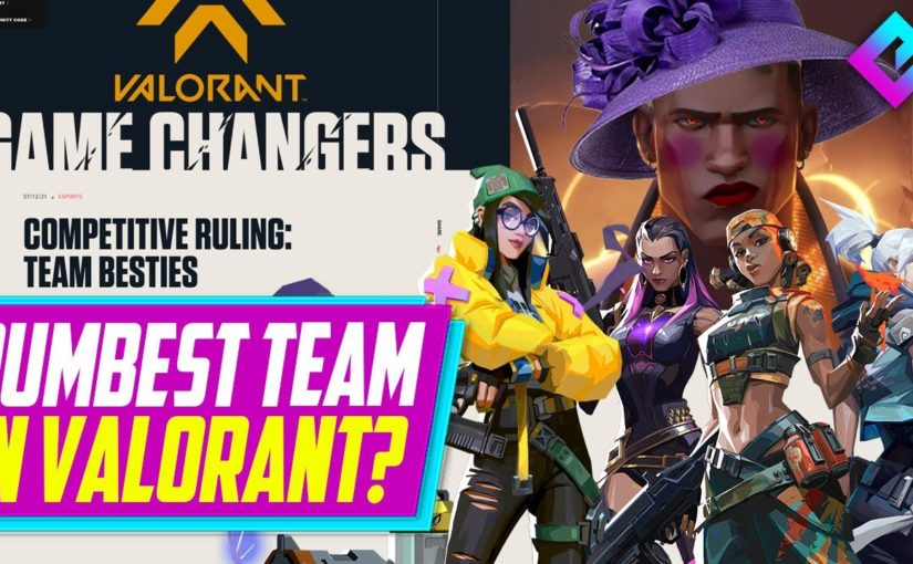 The Dumbest Team in Valorant BANNED 18 MONTHS